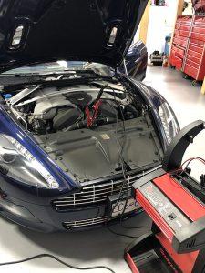 Aston Martin Service Repairs Langley